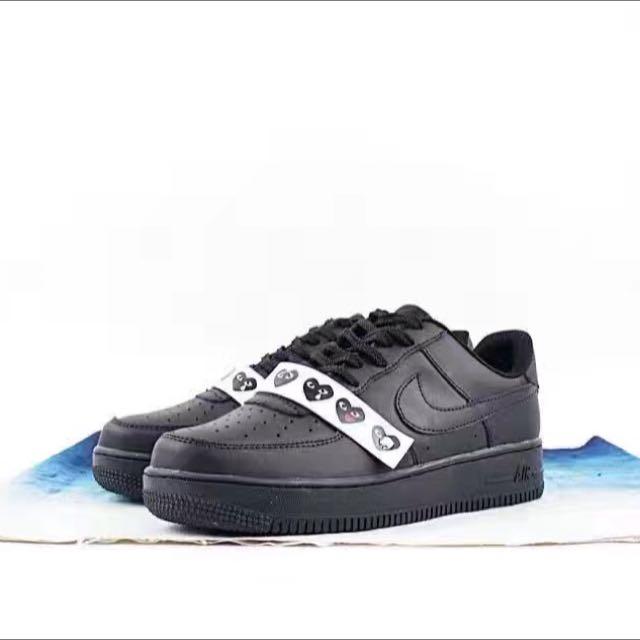 new style 9bfc1 f4e92 新品實拍篇 川久保玲聖誕限定! COMME des GARÇONS x Nike Air Force 1 ...