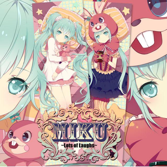 🉐 Hatsune Miku -lots of laugh- Dakimakura