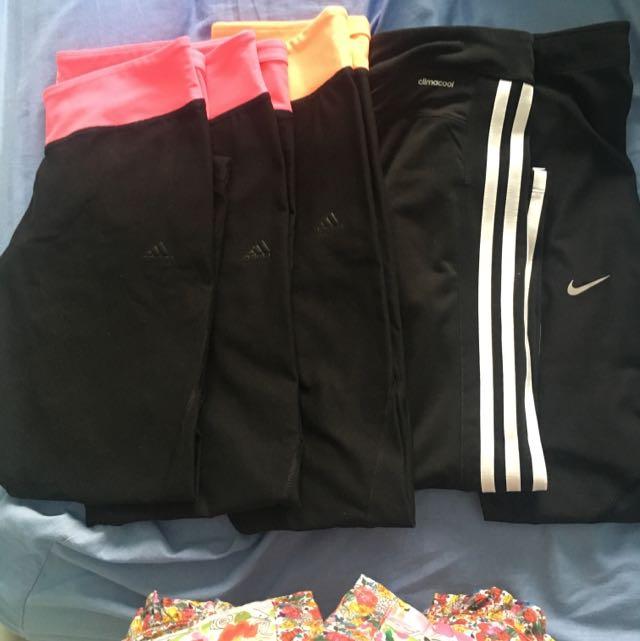 Adidas & Nike Tights