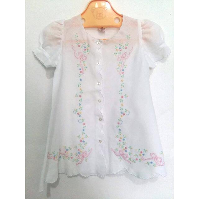 Alba Creaciones Embroidered Dress (3-6 Mos)