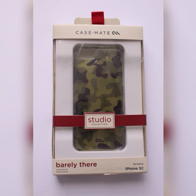 "Authentic Casemate ""Barely There"" Camo Case iPhone 5c"