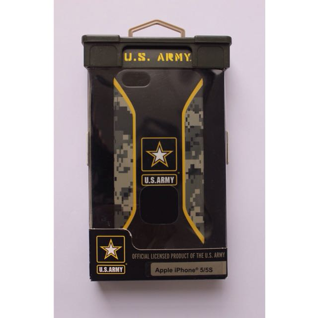 Authentic U.S. Army Case iPhone 5 5s SE