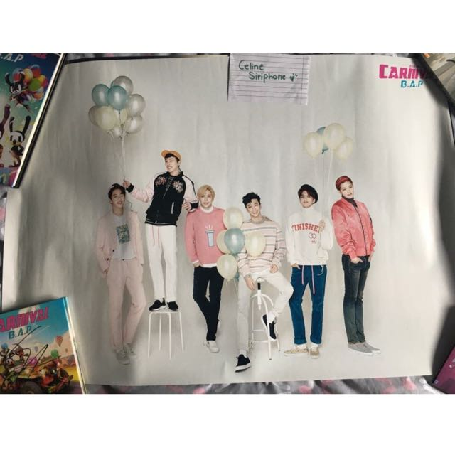 B.A.P Carnival Poster