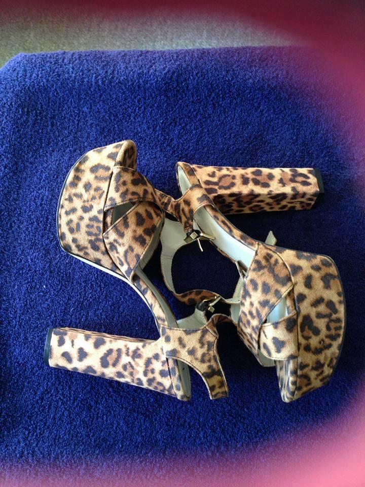Betts Leopard Print Heels