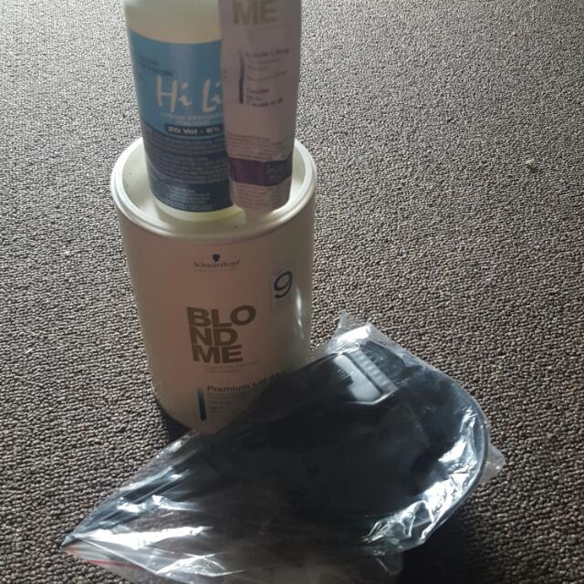 Blondeme Bleach Kit Prolift 9 + Unused
