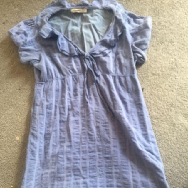 Blue Sailor Minipink Dress 14