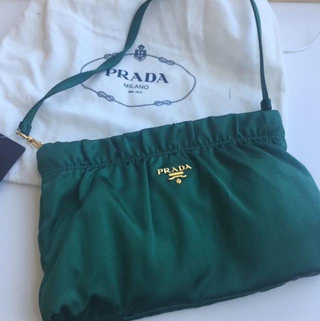 Brand New Prada Dinner Handbag