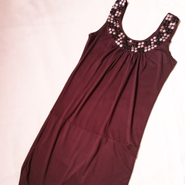 Brown Bodycon Dress (FREE SHIPPING)