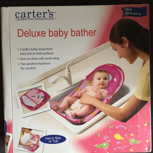 Carter's Baby Bather Pink