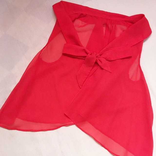 Chiffon Top Cover-up