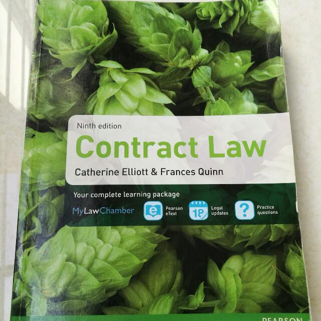 CONTRACT LAW Ninth Edition Textbook