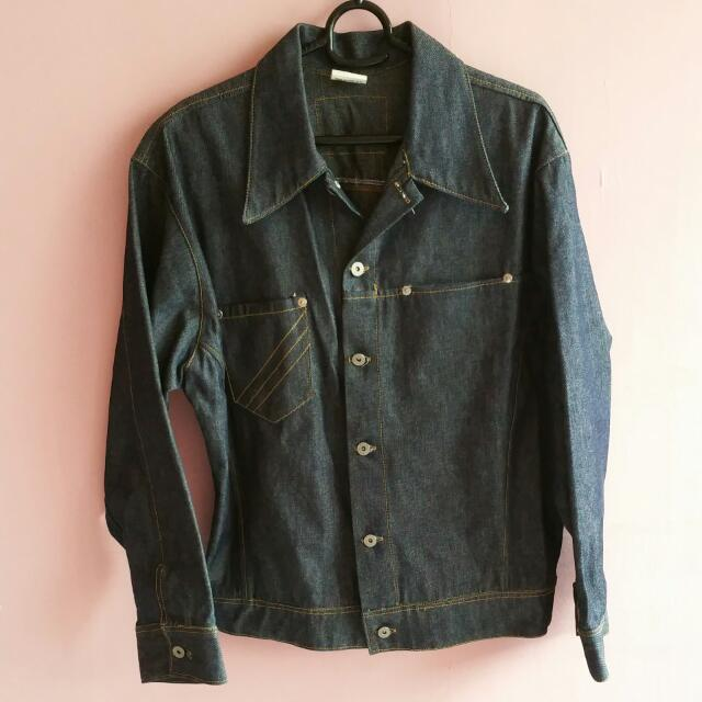 Cool Smart Casual Denim Jeans Jacket Sweater Outer Wear Cardigan