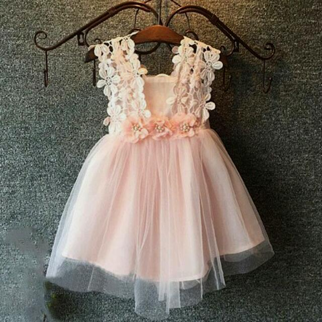Daisy Lace Tulle Dress