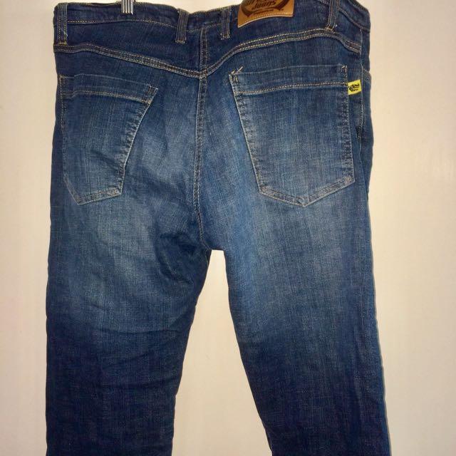 Draggin Jeans Men's Kevlar Jeans. Incredibly Comfortable.