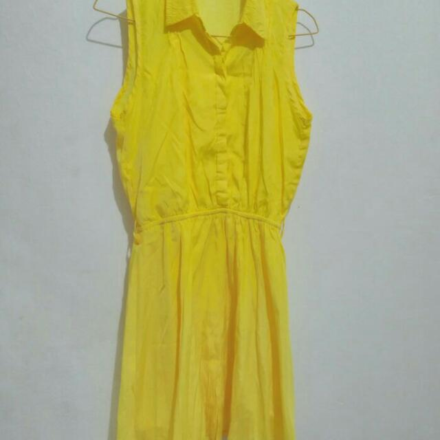 Dress Kuning Cool