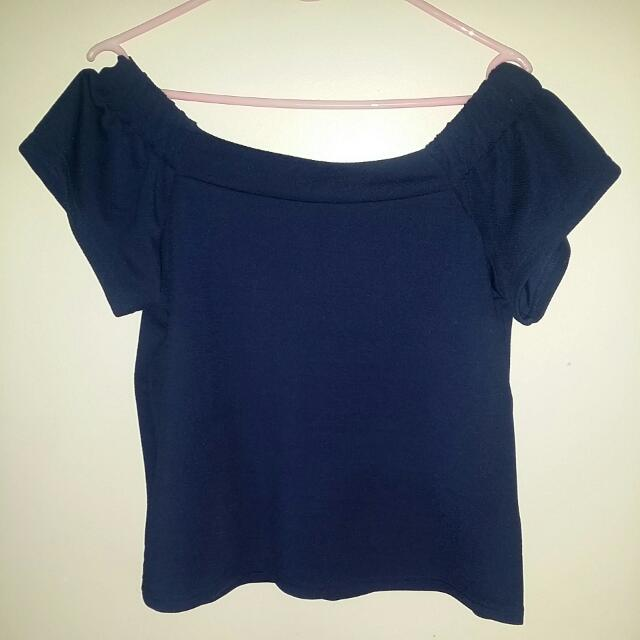 Free Postage - Off The Shoulder Top