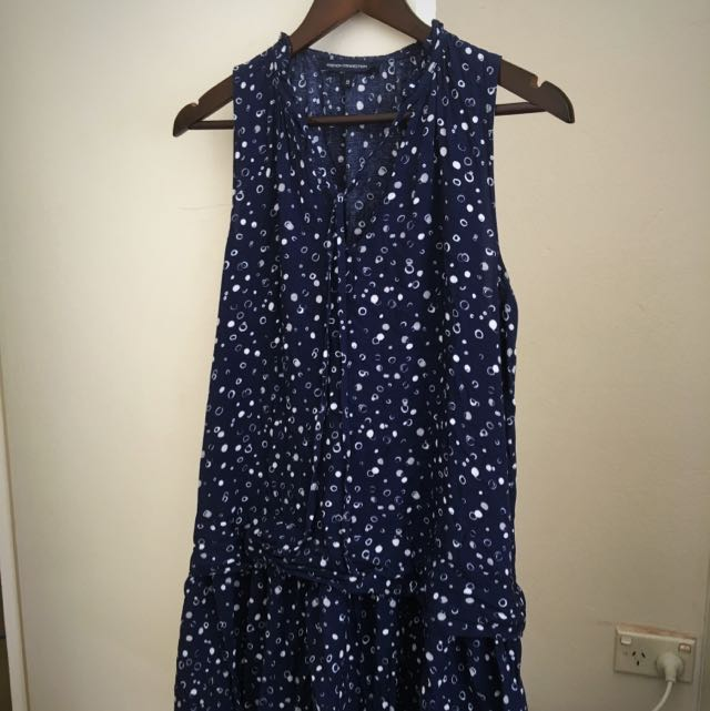 French Connection Bubble Print Swing Dress