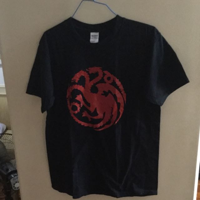 Game Of Thrones Shirt - Fire & Blood