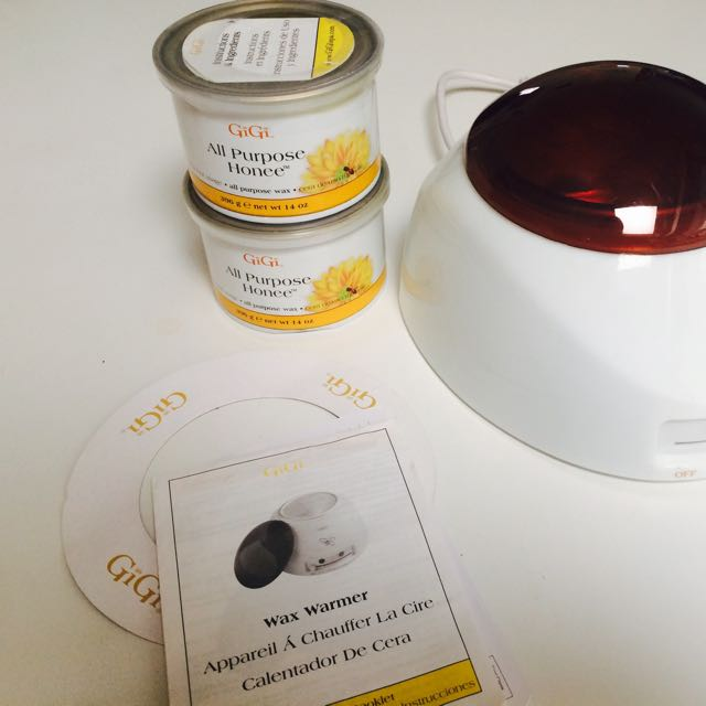 Gigi Wax Warmer Professional. Incl 2 New Wax Containers
