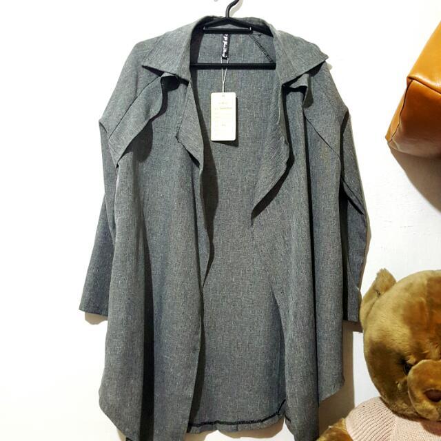 Gray Women's Coat