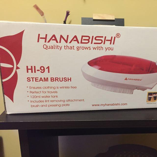 Hanabishi Steam Brush