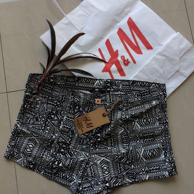 H&M Aztec Shorts