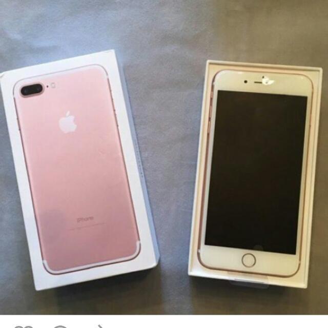 Iphone 7 Plus 64 GB Rose Gold