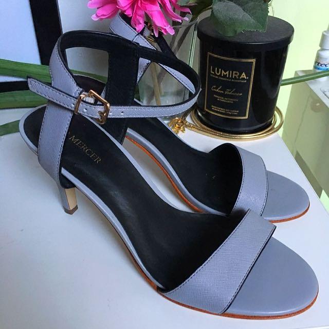 Jo Mercer Blue Heels Size 8.5