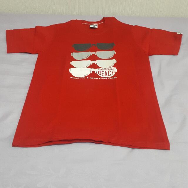 Kaos Pangandaran Merah