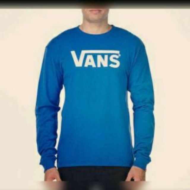 7ea93a9a91 kaos baju T-shirt lengan panjang long sleeve VANS