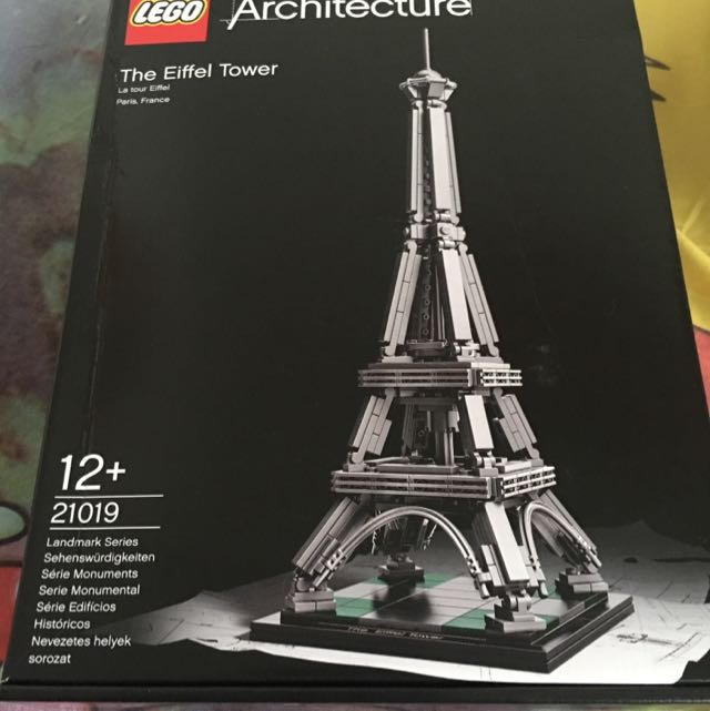 Lego Architecture The Eiffel Tower 21019 Reserved Toys Games
