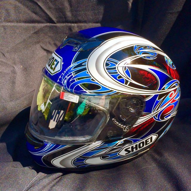 Limited Edition Shoei Motorbike Helmet. Near New.