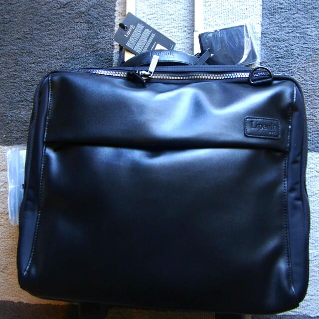 Lipault Mens Travel Office/ Cabin Bag With Wheel