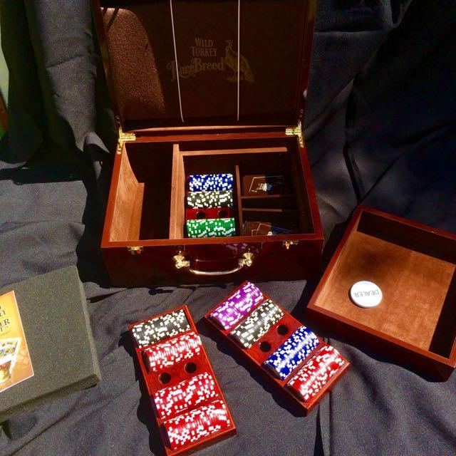 Mahogany Professional Poker Set