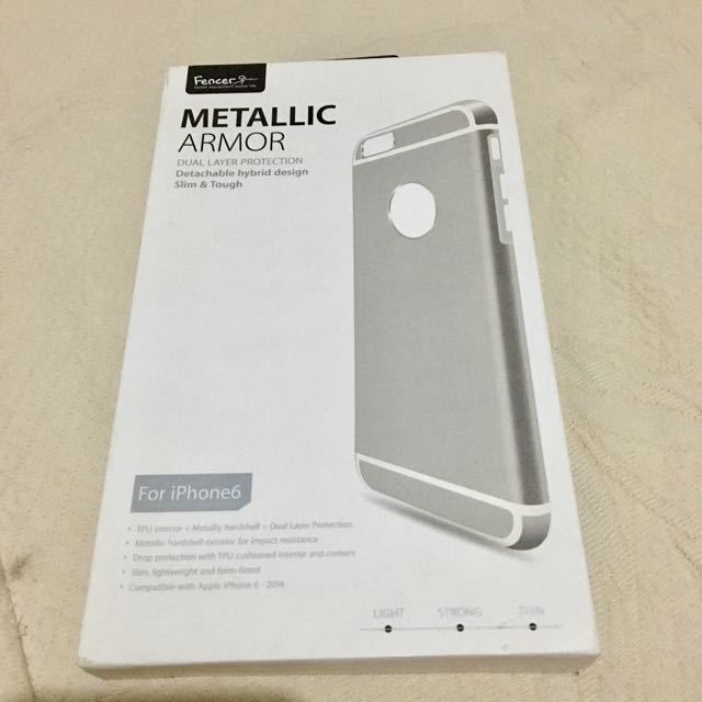 Metallic Armor for iphone6 (Repriced)
