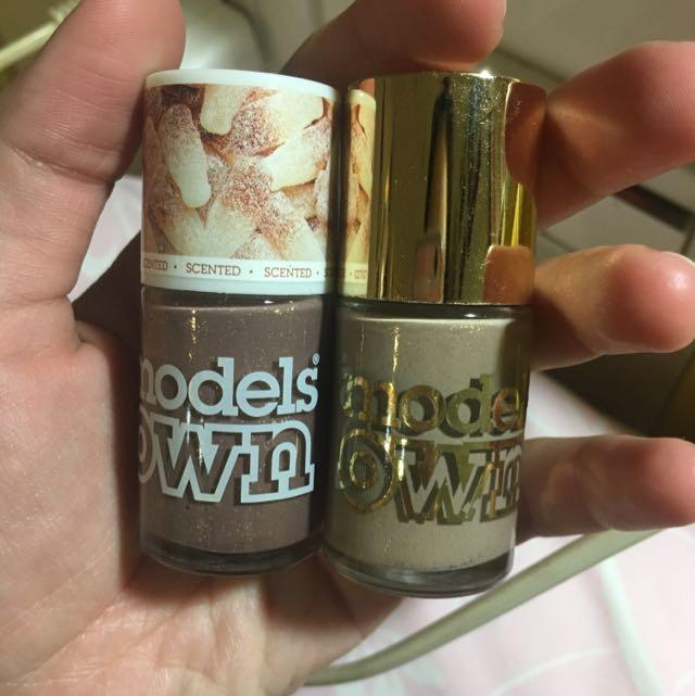 Models OWN 指甲油