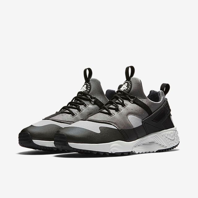 b1b97d7b29b90 Nike Air Huarache Utility (Men) - Base Grey Medium Base Grey Black ...
