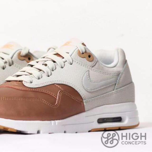 reputable site 4b9d9 bc5ac Nike Air Max 1 Rose Gold, Women s Fashion, Shoes on Carousell