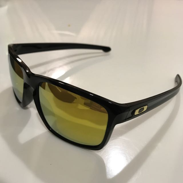 27f149f9d82 Oakley Sliver Polished Black With 24k Iridium Lens (Asian Fit ...