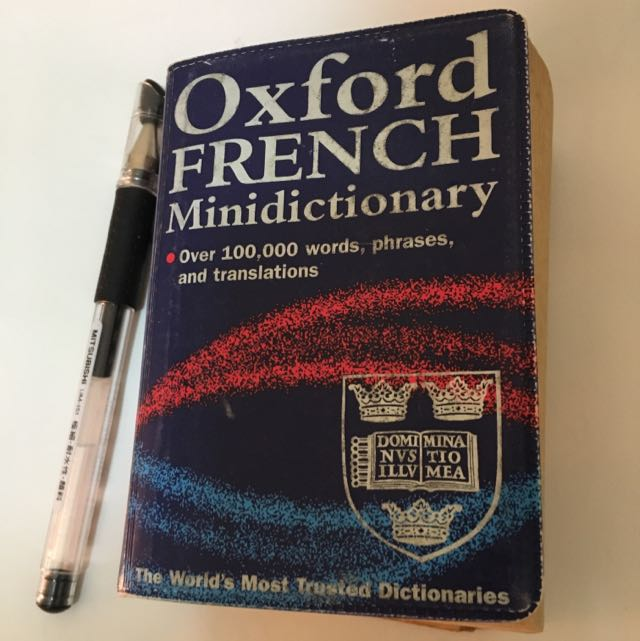 Oxford French Mimi dictionary