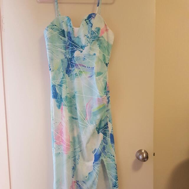 Pastel Coloured Dress Size 12