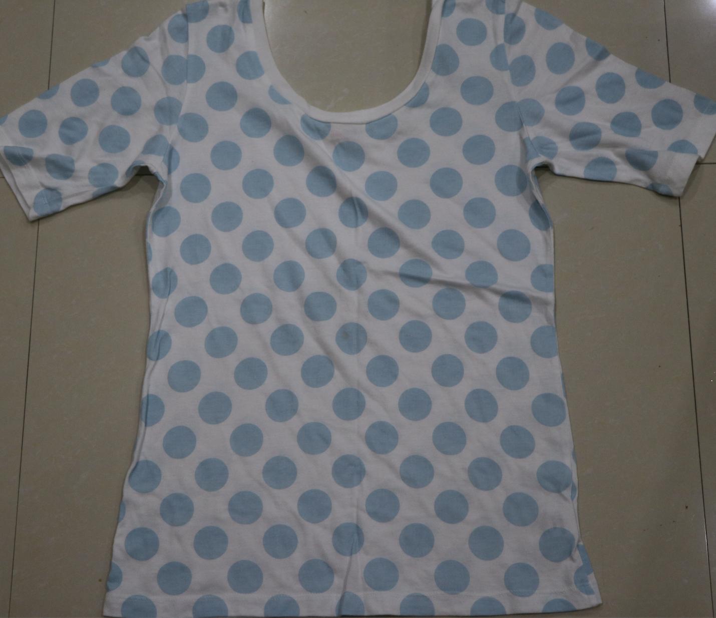 Penshoppe Dotted Blue Shirt