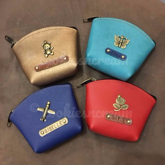 Personalized Leather Purse