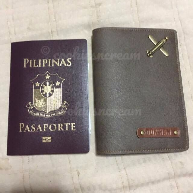 Personalized Passport Holder