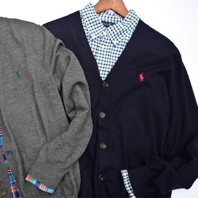 POLO 針織外套(100%羊毛)
