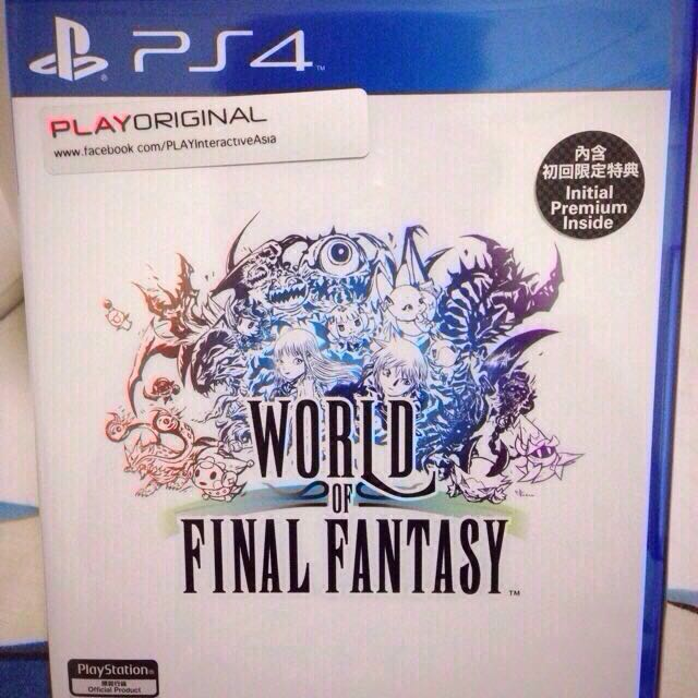 PS4 World Of Final Fantasy Chinese Subtitle Free Psvita Game