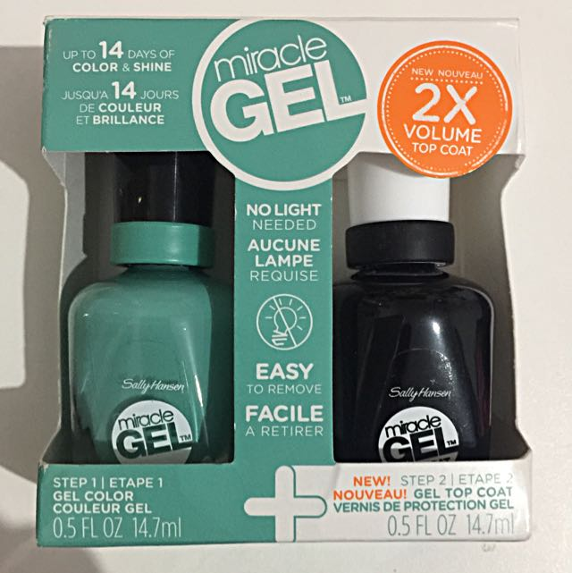 Sally Hansen Miracle Gel Starter Kit -230 Geo- Mint- Ric