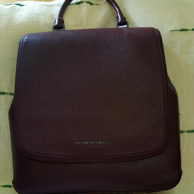 Samsonite Red Larma Backpack