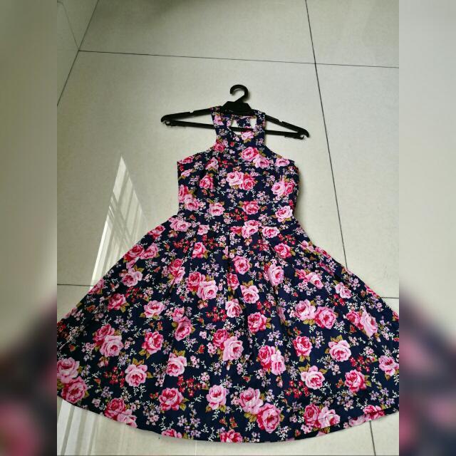 TWENTY 3 Sleeveless Flora Dress (New)