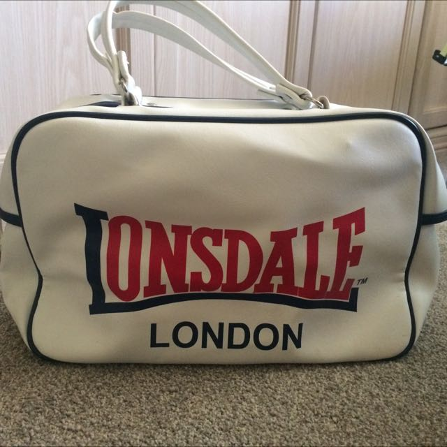 White Lonsdale Bag